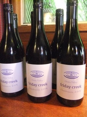 Friday Creek Chambourcin Wine