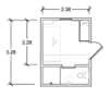 #9 Super compact studio Unit(suits 1 person)