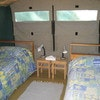 GLAMPING TENT - TWIN BEDS