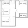 Two Bedroom Family Unit Standard