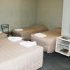 Shared Bathroom - 1 Double + 2 Single beds
