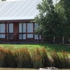 Stone cottage on the lake