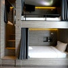 8 Bunk bed with balcony and en suite bathroom with Breakfast