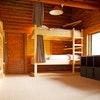 Bed in Deluxe dorm room