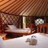 Yurt: large family & friends room