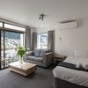 1 Bedroom unit private balcony Mountain Views-Direct booking
