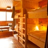2 Bunk beds in mixed standard dorm