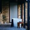 Two Bedroom Limestone - Outdoor Stone Bath
