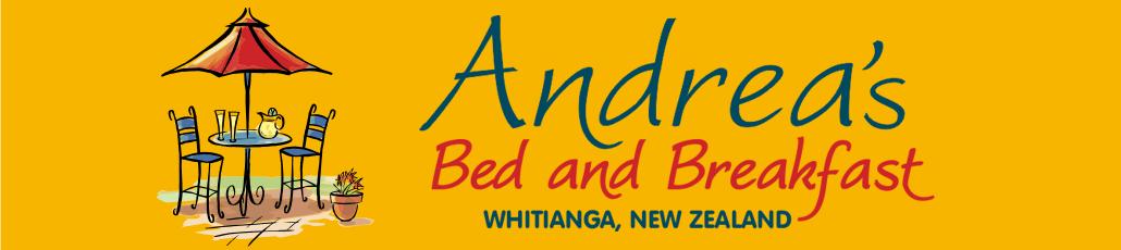 Andrea's b b banner