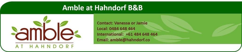 Amble at hahndorf header banner 2016