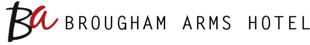 Brougham arms website logo