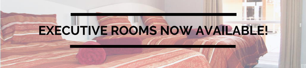 Book our new executive rooms now!