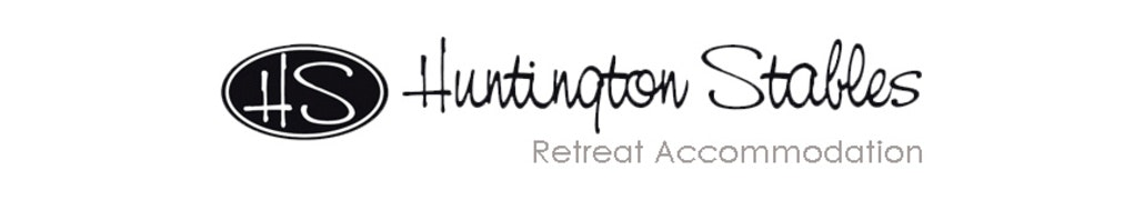 Huntington stables retreat accommodation logo