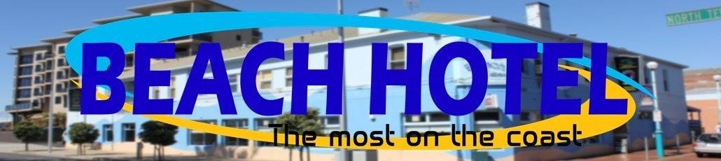 Beach hotel banner