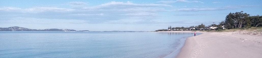 Jimmy's beach calm morning 1