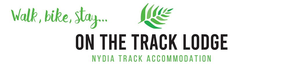 On the track lodge and tagline