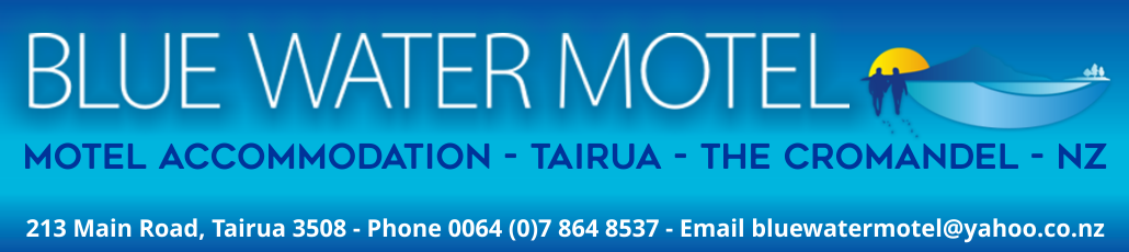 Header blue water motel tairua