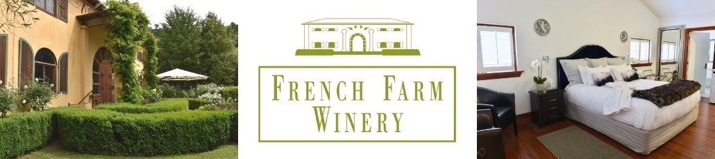 French farm winery accommodation banner little hotelier
