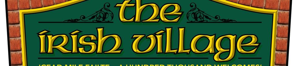 The irish logo with tag line